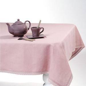 Maisons du monde - nappe lin lilas - Nappe Rectangulaire