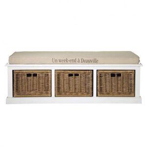 Maisons du monde - banc de rangement comptoir des épices - Banc Coffre