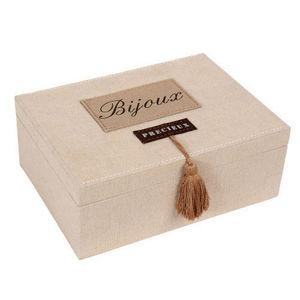 Maisons du monde - boite à bijoux sweet home - Coffret À Bijoux