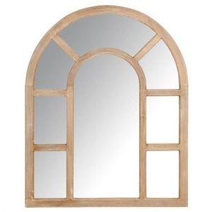 Maisons du monde - miroir lutecia grand modèle cérusé - Miroir