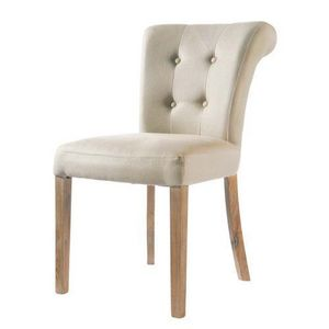 Maisons du monde - chaise lin boudoir - Chaise
