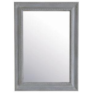 Maisons du monde - miroir léonore gris 82x113 - Miroir