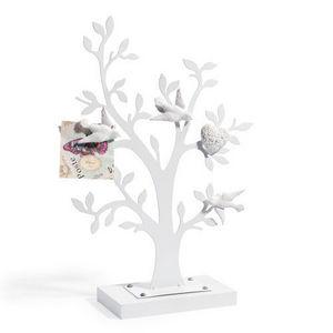 Maisons du monde - p�le-m�le arbre oiseaux blancs - P�le M�le