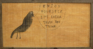 Sugarboo Designs - art print - enjoy yourself - Tableau D�coratif