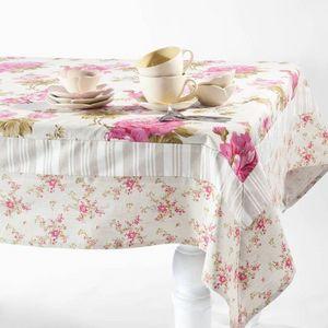 Maisons du monde - nappe floralie patch - Nappe Rectangulaire