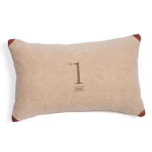 Maisons du monde - coussin number one - Coussin Rectangulaire