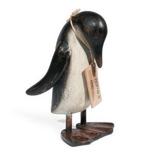 Maisons du monde - statuette pingouin eric - Figurine