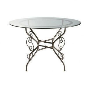 MAISONS DU MONDE - table à dîner toscane - Table De Repas Ronde