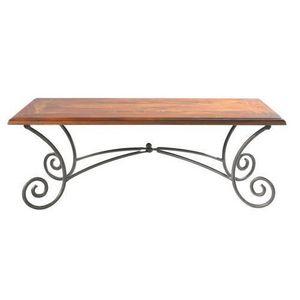 MAISONS DU MONDE - table basse rectangle lubéron - Table Basse Rectangulaire