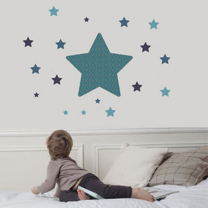 ART FOR KIDS - sticker etoile multicolore - Sticker D�cor Adh�sif Enfant