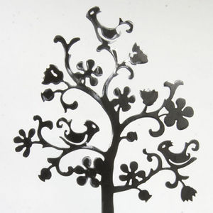 YAN HUBLOT - arbre à bijou métal persane - Porte Bijoux