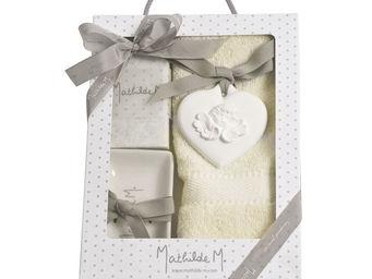 Mathilde M - boîte composée cur tête d'angelot (porte-savon) - Savonnette