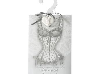 Mathilde M - cintre esprit lingerie bustier, parfum fleur de de - Cintre