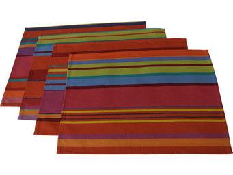 Les Toiles Du Soleil - set de table bonbons plume - Set De Table