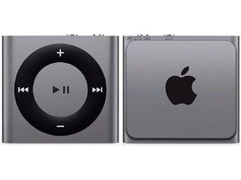 APPLE - ipod shuffle 2 go gris sidral - new - Mp3