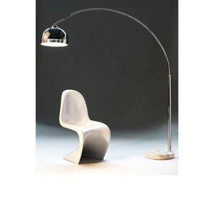 WHITE LABEL - lampe de sol design malo - Lampadaire