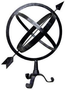 Jardinieres & Interieurs - astrolabe poli - Sphère Armillaire
