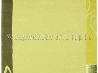 Arte Espina - tapis easy going 3 vert 200x300 en acrylique - Tapis Contemporain