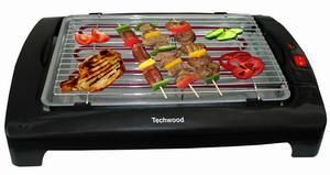TECHWOOD - barbecue de table techwood tbq802 - Plancha