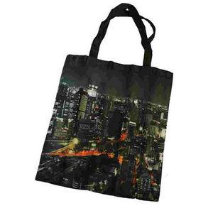 WHITE LABEL - sac shopping new york city skyline - Cabas