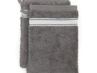 Jean Vier - grand h�tel invers� gris lapin - Gant De Toilette