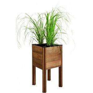 JARDIPOLYS - bac à planter en bois 62 litres byo - Bac À Fleurs