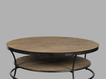 BLANC D'IVOIRE - aude - Table Basse Ronde