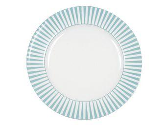 BLANC D'IVOIRE - twiggy assiette plate - Assiette Plate