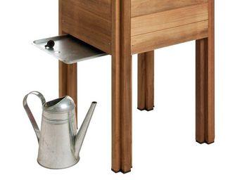 JARDIPOLYS - récupérateur d'eau en acier pour potager byo 42,9 - Carré Potager