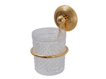 Cristal Et Bronze - ciselé - Porte Verre À Dent