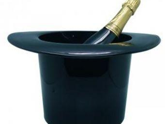 Manta Design - seau à champagne chapeau - couleur - noir - Seau À Champagne