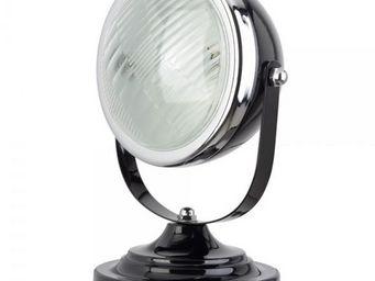 La Chaise Longue - lampe phare rétro noir - Lampe À Poser