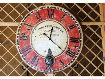 L'HERITIER DU TEMPS - horloge à balancier cuisine ø 58cm - Horloge Murale