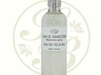 Savonnerie De Bormes - eau d'armoire - eau de velours - 100 ml - savonne - Parfum D'intérieur
