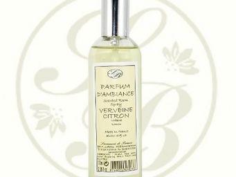 Savonnerie De Bormes - parfum d'ambiance - verveine citron - 100 ml - sa - Parfum D'intérieur