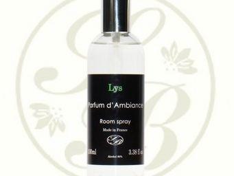 Savonnerie De Bormes - parfum d'ambiance - black ligne - lys - savonneri - Parfum D'intérieur