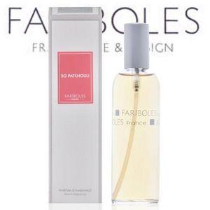 Fariboles - parfum d'ambiance - so patchouli - 100 ml - farib - Parfum D'intérieur