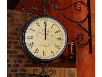 L'HERITIER DU TEMPS - horloge de gare murale 46cm - Horloge Murale