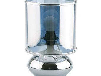 La Chaise Longue - lampe lentille chrome - Lampe À Poser