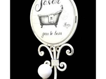 L'HERITIER DU TEMPS - pat�re en fer et porcelaine - Pat�re