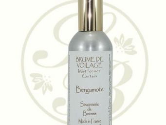 Savonnerie De Bormes - brume de voilage - bergamote - 100 ml - savonnerie - Parfum D'intérieur