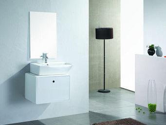 UsiRama.com - meuble salle de bain ballerine 62cm - Meuble De Salle De Bains