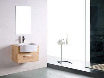 UsiRama.com - meuble salle de bain en bois massif boibo 70cm - Meuble Vasque
