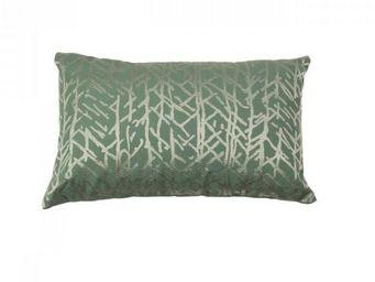 BLANC D'IVOIRE - forest lagon - Coussin Rectangulaire