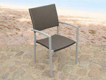 BELIANI - meubles en rotin - Fauteuil De Jardin