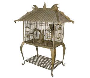 Demeure et Jardin - cage jules verne - Cage � Oiseaux