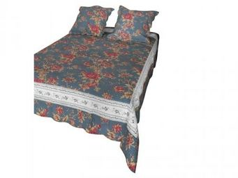 Demeure et Jardin - couvre lit 2 personnes - Boutis