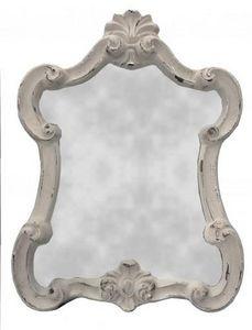 Demeure et Jardin - glace mouvementée grise - Miroir