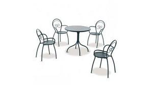 RD ITALIA - fauteuil empilable rd italia fiona 2 - Fauteuil De Jardin