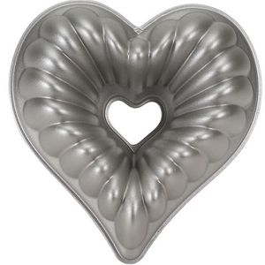 Nordicware - moule à gâteau bundt forme coeur 3d - Moule À Gâteau